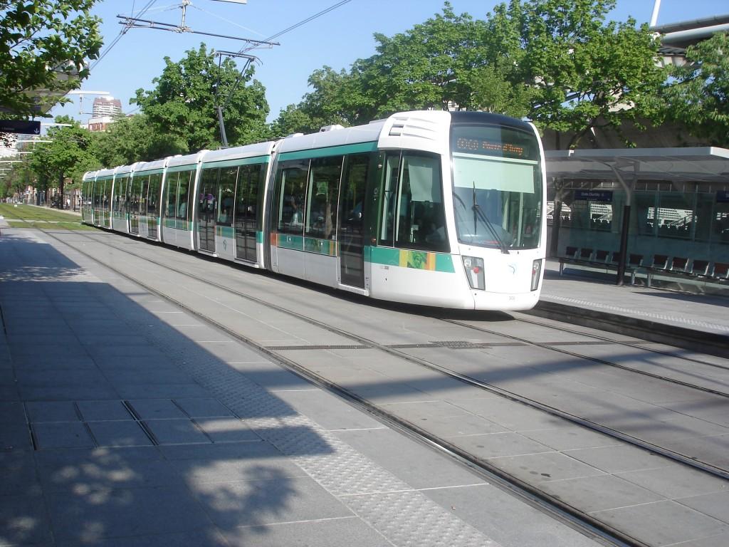 tramway pairs ile de france 1024x768 Plan du Tramway Parisien  (PDF)