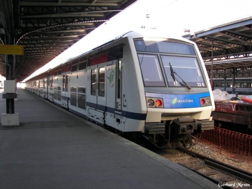 transilien plan paris Plan du Transilien et RER Parisien avec les zones (PDF)